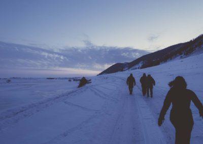 way to Baikal in Buguldeyka